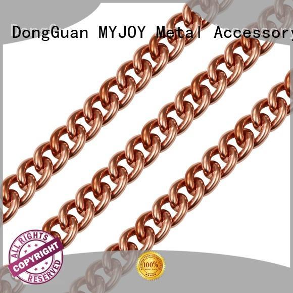 MYJOY gold handbag strap chain durable for purses