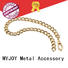 MYJOY fashion decorative chains for purses Nickel for purses