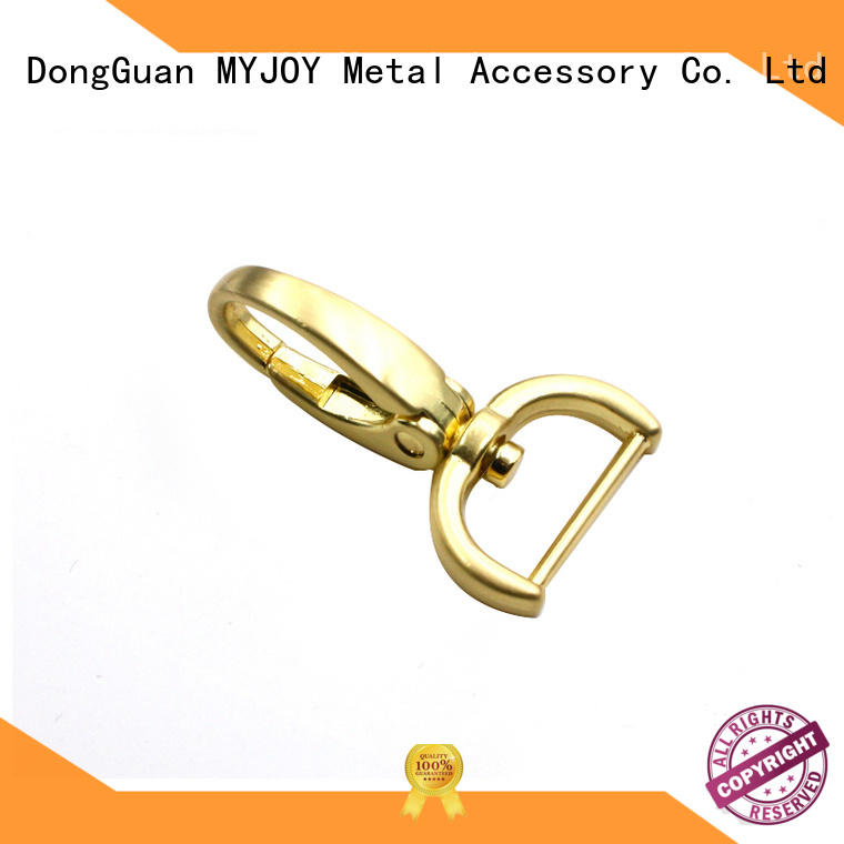 MYJOY durable swivel snap hooks exporter for high-end handbag