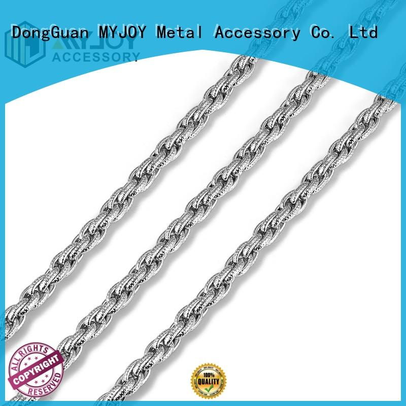Custom handbag chain strap zinc company for handbag
