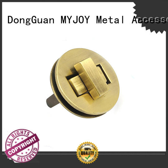 MYJOY Wholesale twist turn lock supply for bags