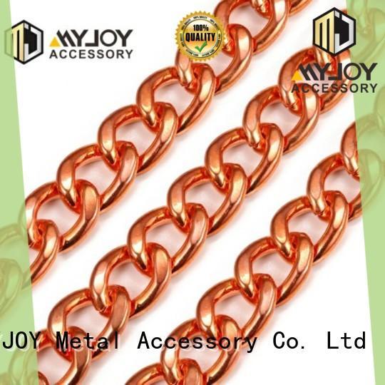 MYJOY zinc handbag chain company for purses