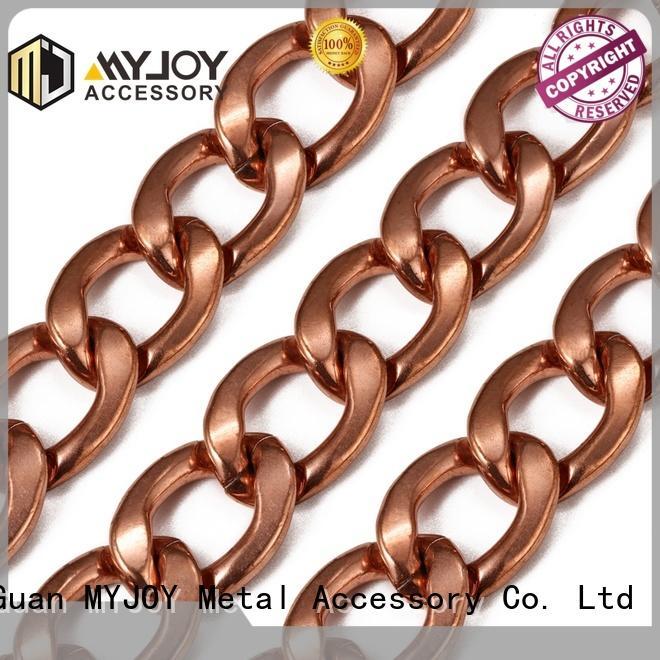 MYJOY zinc chain strap suppliers for handbag