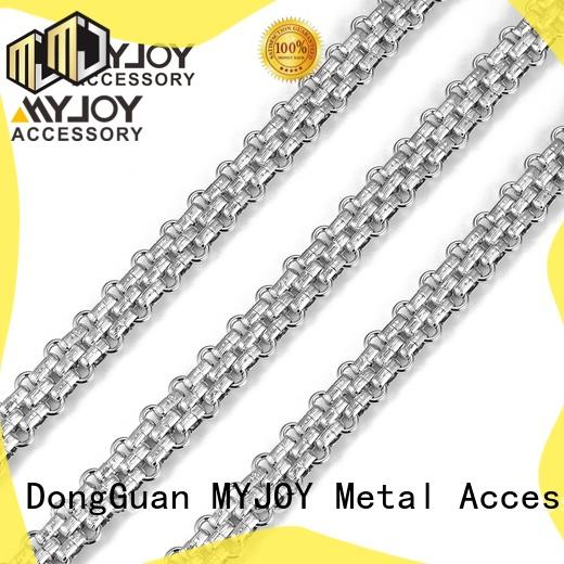 MYJOY zinc chain strap supply for purses