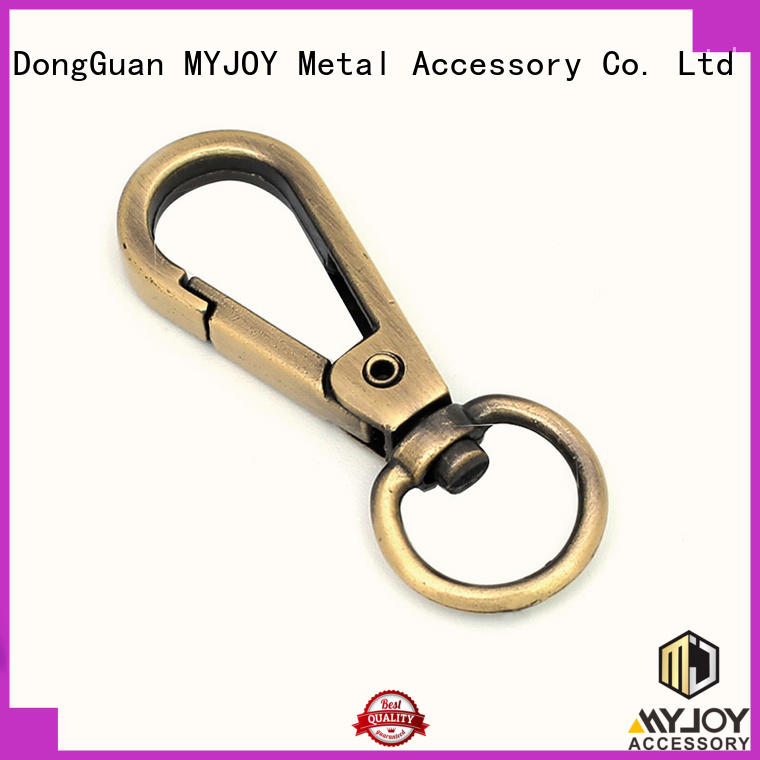 MYJOY shaped swivel snap hooks suppliers for high-end bag
