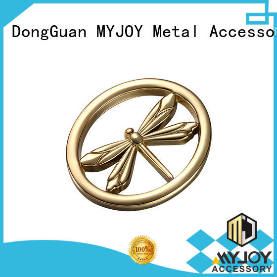 MYJOY New handbag logo plates company for purses