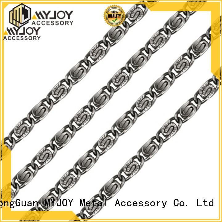 MYJOY zinc bag chain suppliers for purses