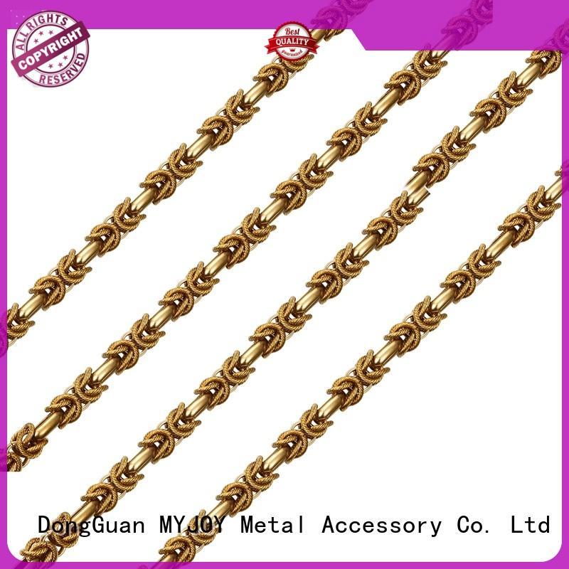 MYJOY new handbag strap chain factory for handbag