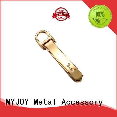 gold metal label manufacturers special shape for purses MYJOY