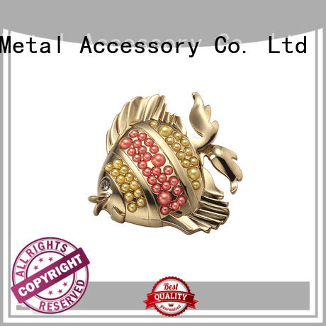 MYJOY Wholesale metal logo plates for handbags suppliers for trader