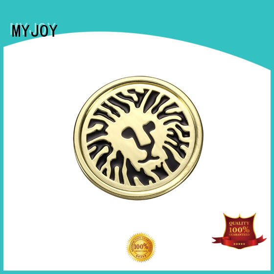 MYJOY customized custom metal labels OEM for purses